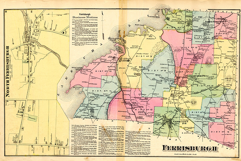 Historic Maps | Vermont Center for Geographic Information